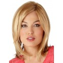 Blonde Shoulder Length Synthetic Wig