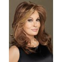Raquel Welch Long Brown Wavy Wig