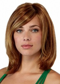 Long Brown Wig For Women