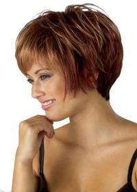 Red Bob Womens Wig