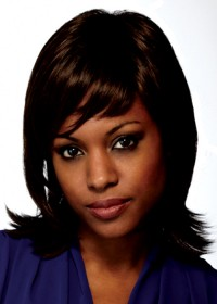 Dark Brown Shoulder Length Women's Wig