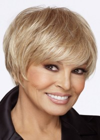 Raquel Welch Luxury Short Blonde Female Wig