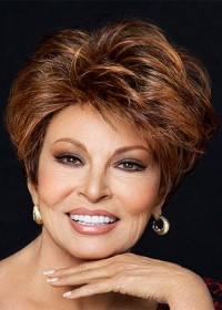 Raquel Welch Luxury Short Brown Ladies Wig