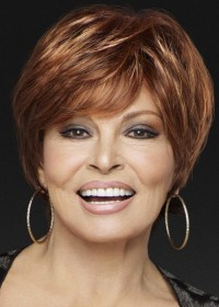 Raquel Welch Short Red Wig For Women