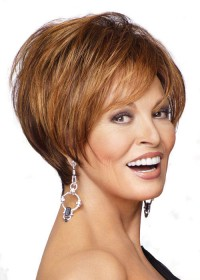 Raquel Welch Very Short Blonde Ladies Wig
