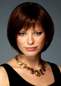 Short Brown Bob Wig By Inspired