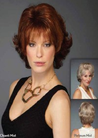 Inspired Short Red Elegant Womens Wig