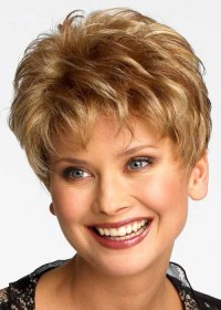 Very Short Blonde Raquel Welch Wig For Women