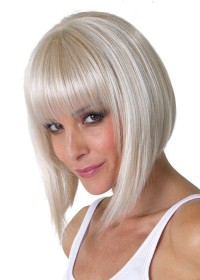 White Bob Wig For Women
